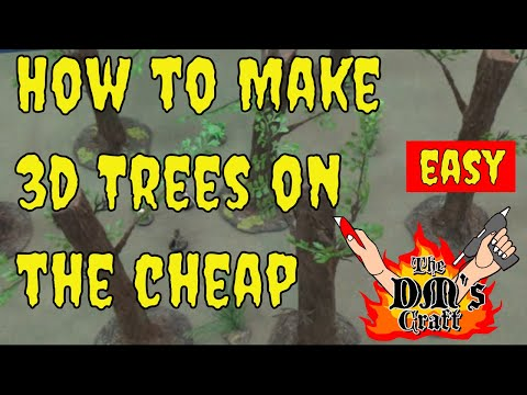 How to Make GIANT TREES for RPGs and Wargames (The DM's Craft #90)