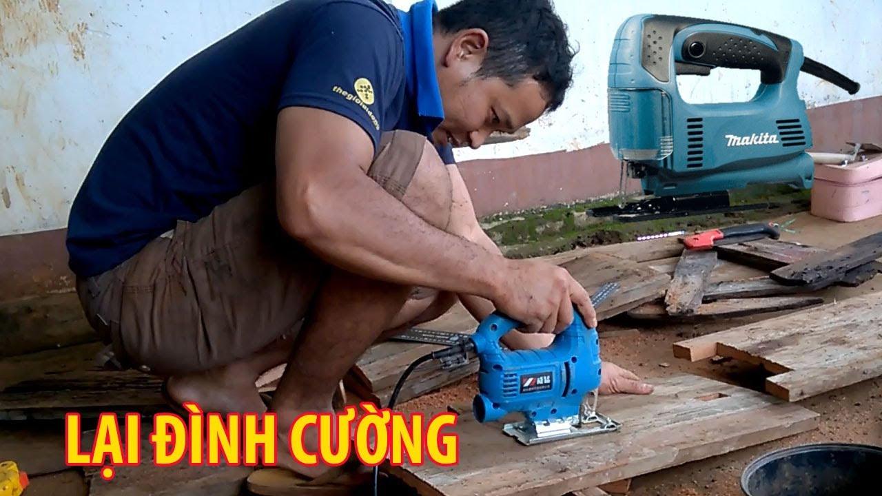 Máy cưa lọng mini, máy cắt gỗ cầm tay, máy cắt sắt cầm tay