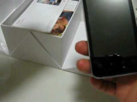 Huawei u8600 Spark - telekom move balance Unboxing
