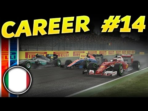 F1 2016 CAREER MODE PART 14: Italian GP Monza