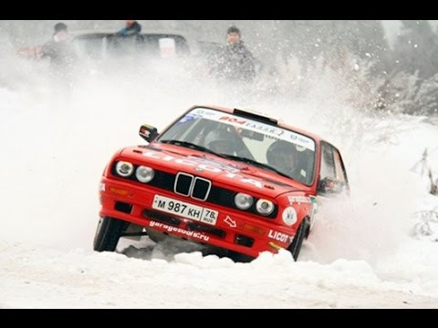BMW E30 ралли Карелия - Новоржев