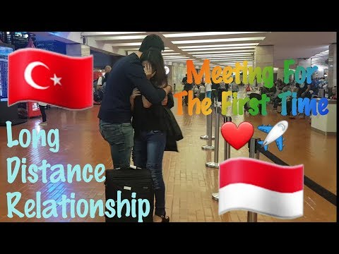 LONG DISTANCE RELATIONSHIP MEETING FOR THE FIRST TIME!! ||  TURKEY & INDONESIA LDR