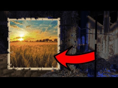 Mapart in Survival Minecraft - The Full Guide (2b2t) - YouTube