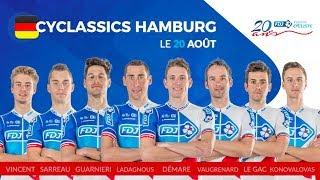 Composition de l'équipe FDJ pour la Classique d'Hambourg