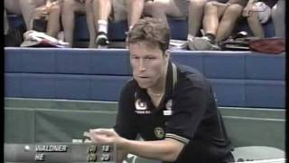jan ove waldner he zhi wen world table tennis championship 1999