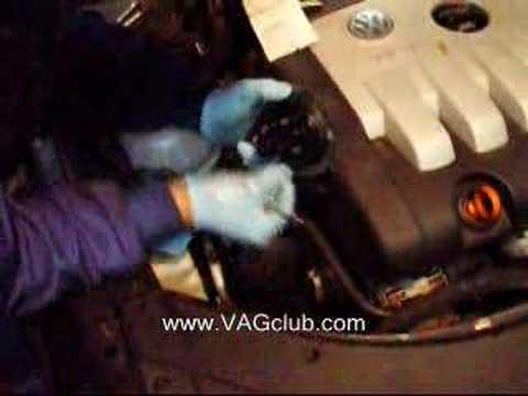 VIDEOMANUAL CAMBIO DE FILTRO DE GASOIL EN PASSAT 3C 2.0 140C