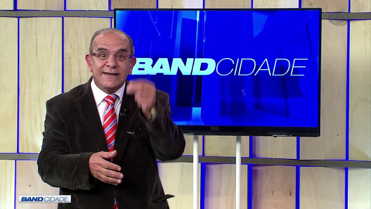 Milton Cardoso apresenta o Band Cidade, da TV Band do Rio Grande do Sul (Foto: Reprodução / Youtube)