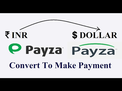 How To Convert Inr Usd In Payza Wallet Make Payment