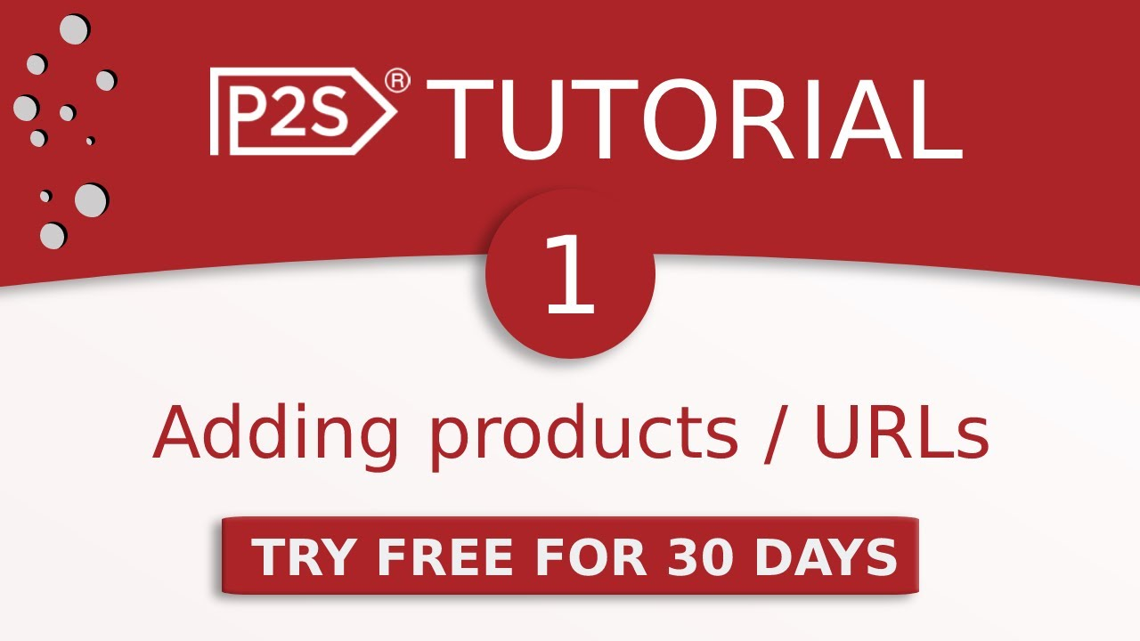 Price2Spy tutorial #1 - how to add products / URLs to be monitored