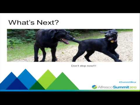 Alfresco Summit 2013: Going Paperless at Edmonton Public Schools & Church Pension Group