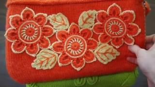 Сумки крючком - обвязка готовых сумок