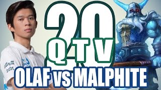 Stream QTV - OLAF chạm trán FAN CUỒNG - MALPHITE #20