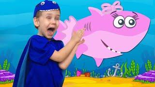 Baby Shark | 동요와 아이 노래  어린이 교육 Ulya Liveshow