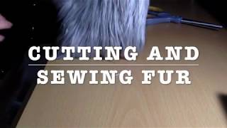 How to Cut and Sew Fur! - Mini tutorial