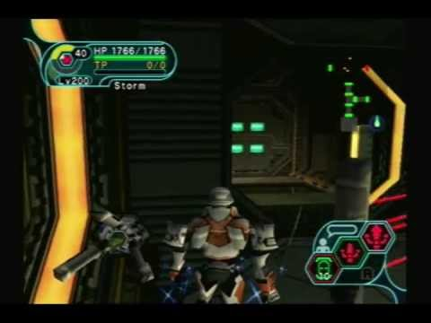 PSO Gameplay: Seabed Lower Level