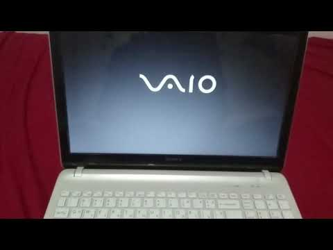 How To Enter The BIOS Of Sony Vaio SVF Series
