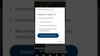 Gambar cover PLUG ME IN TV video/movie Streaming site