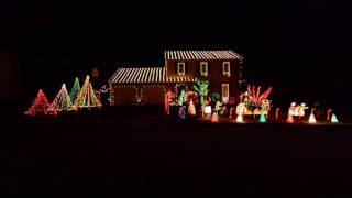 2016 Christmas Lights | Thunderstruck - AC/DC