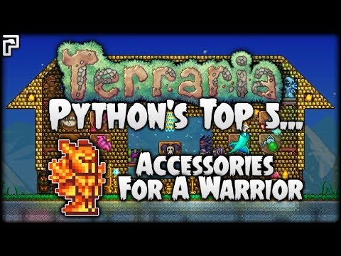Top 5 Terraria Accessories for Warriors