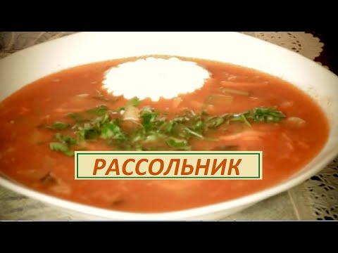 Суп щавелевый с перловкой