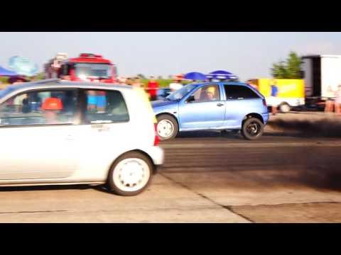 SEAT IBIZA 1.9 TDI 500HP 11.5 vs VW LUPO 500HP 11.8