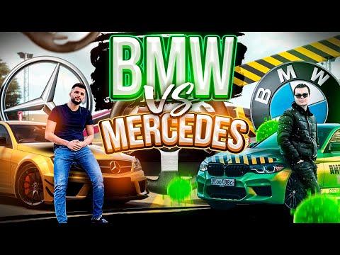 МОЙ MERCEDES ПРОТИВ BMW M5F90 БУЛКИНА В GTA 5 RP