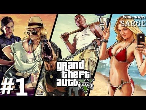 Zagrajmy w GTA 5 (Grand Theft Auto V) odc. 1 - Witamy w Los Santos