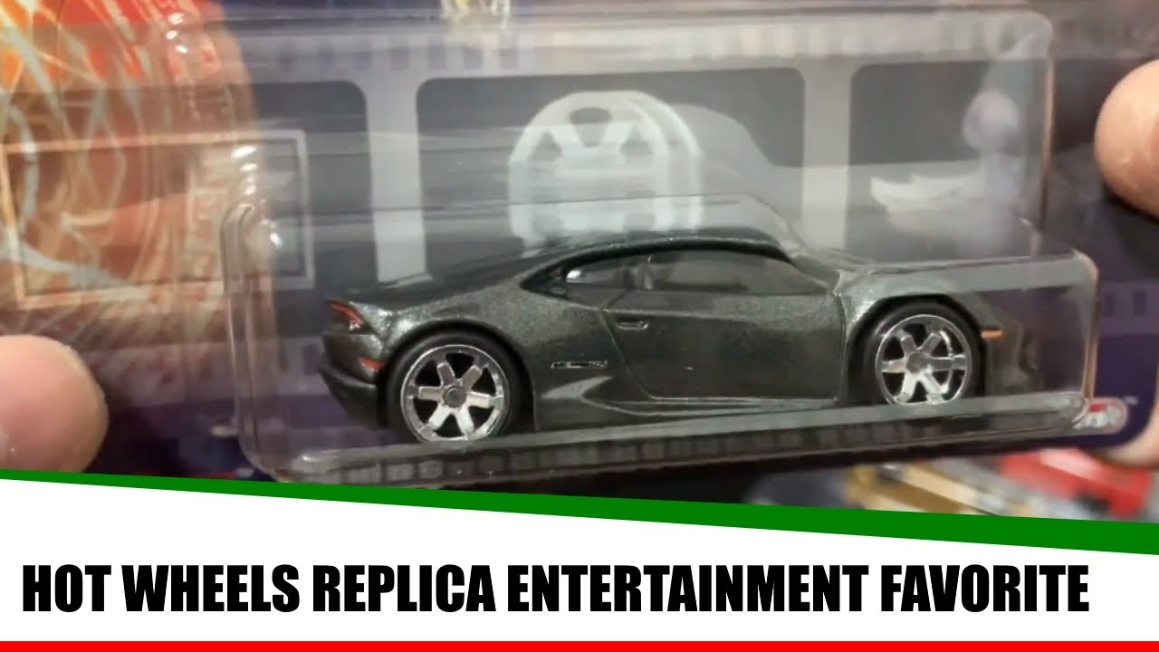 Hot Wheels Replica Entertainment Favorite 2019 Vehicles Case!