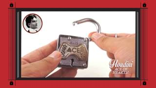 Houdini Puzzle Lock - Ace of Hearts Solution