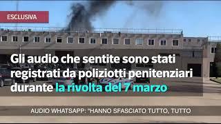 Corriere Tv: Video E Audio Dei Poliziotti Penitenziari Sequestrati Nella Rivolta Di Foggia