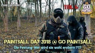 ★ Paintball Day 2018 @ Go Paintball (Teil 6│Die Festung-Wer wird sie wohl erobern)