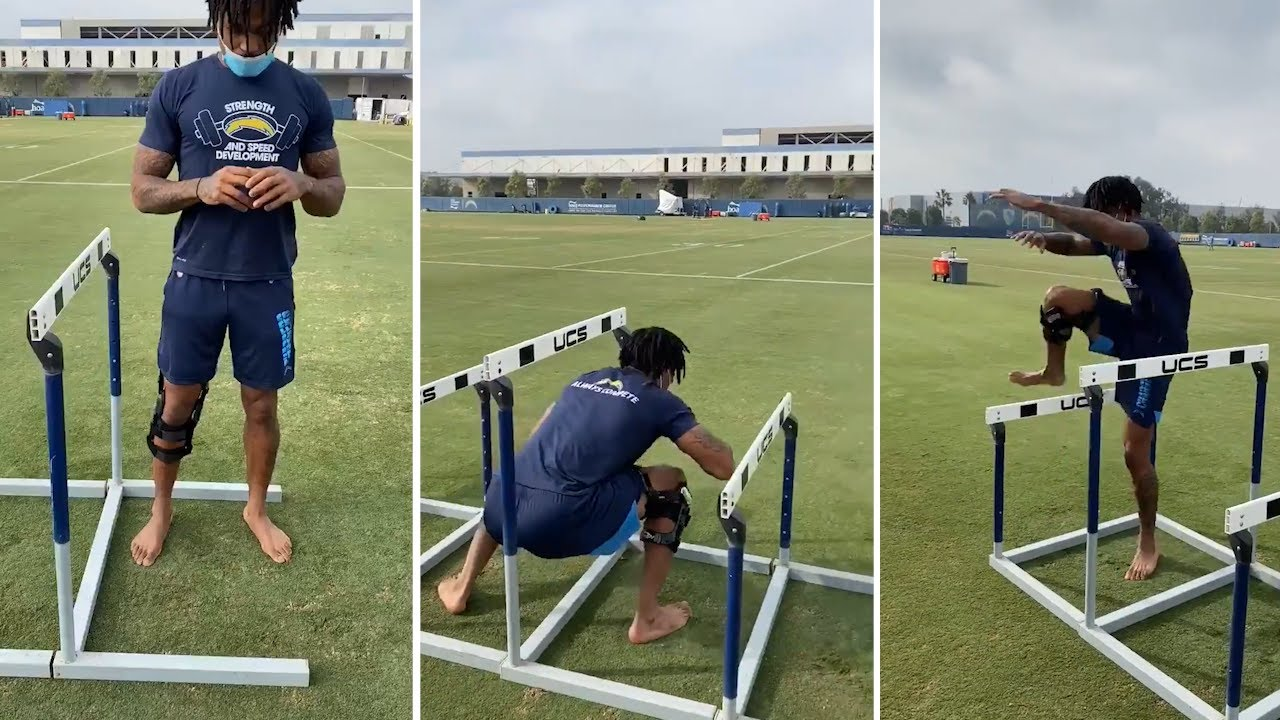 Derwin James Grinding & Rehabbing To Return To Chargers Next Year Better Than Ever!