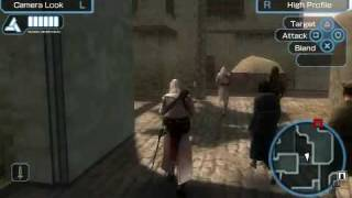 Assassins Creed Bloodlines Psp Gameplay