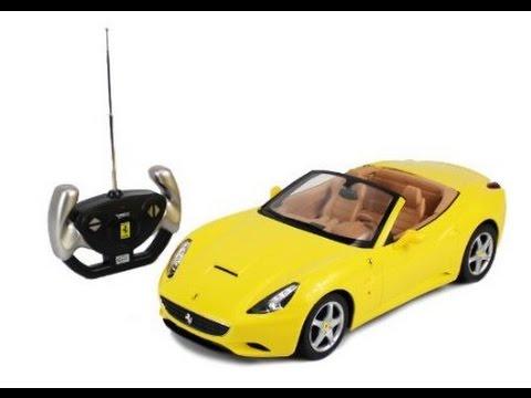 Ferrari California Coche Deporte Convertible A Control Remoto