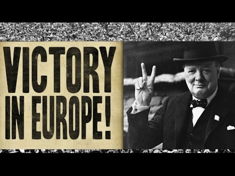V-E Day World War II Victory in Europe anniversary song - hang out the washing on the Siegfried Line