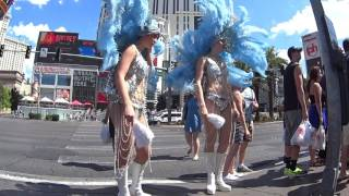 2016 Las Vegas Strip Street Entertainers and Downtown Performers.