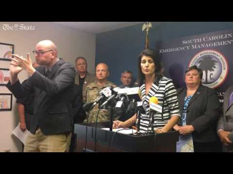 Gov. Haley: evacuate all SC coastal communities ahead of Hurrican Matthew
