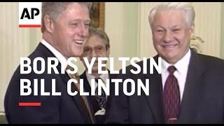 Russia  Boris Yeltsin amp; Bill Clinton Meet