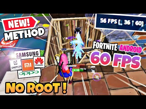 FORTNITE ANDROID 60/90/120 FPS   No ROOT For All Devices   #2   2020