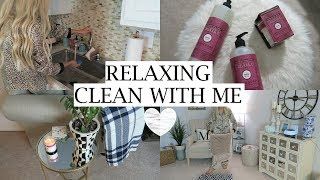 Relaxing Nighttime CLEAN WITH ME | New Fall Products | Erica Lee