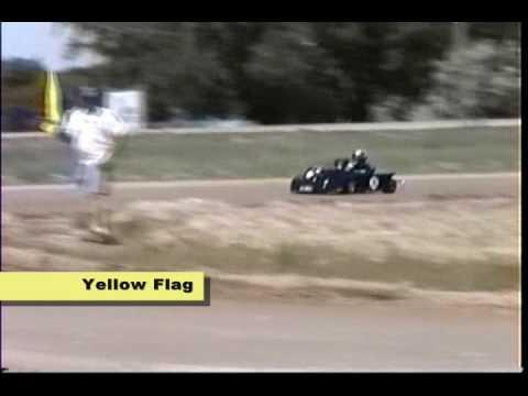 Reile's 1st Go-kart race.