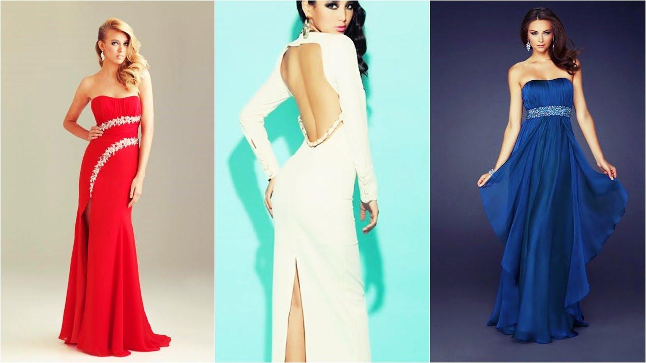 Vestidos largas de moda 2015