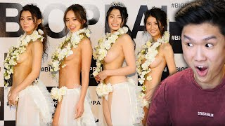 "These are the finalists for Japan's ""Most Beautiful Breasts"" competition"