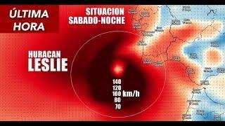 # HURACÁN LESLIE CAT.1 │ SE ACERCA VELOZMENTE A ESPAÑA