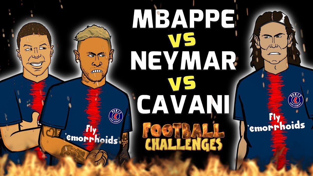 mbappe-vs-neymar-vs-cavani-football-challenges