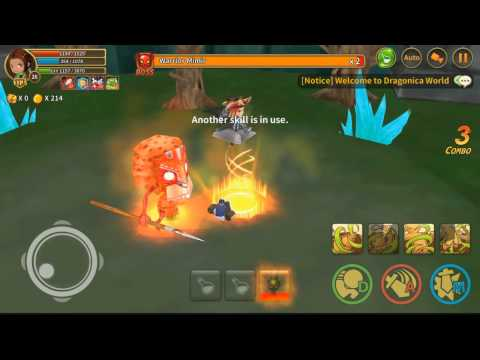 Gameplay with Gamepad – Line Dragonica Mobile Indonesia