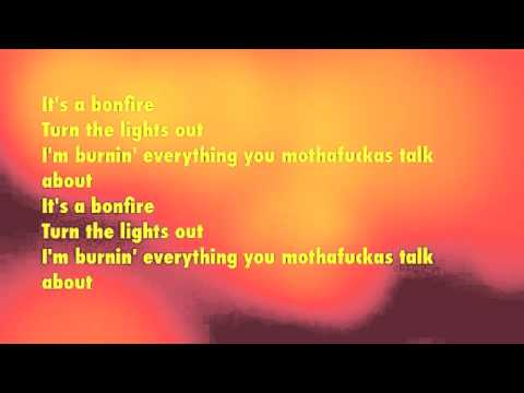 Bonfire- Childish Gambino Lyrics Onscreen | Doovi