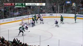 Distraught Tyler Seguin Drops Stick After Grubauer