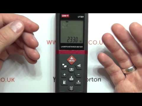 Review: UNI-T UT391 Laser Distance Meter / Electronic tape m