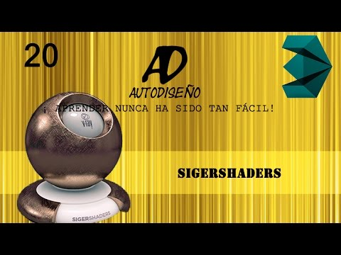 sigershaders v ray material presets pro for 3ds max 2017